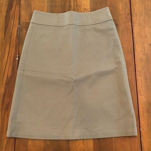 Banana Republic Taupe Stretch Pencil Skirt